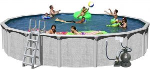 Splash Pools Above Ground Round Pool Package