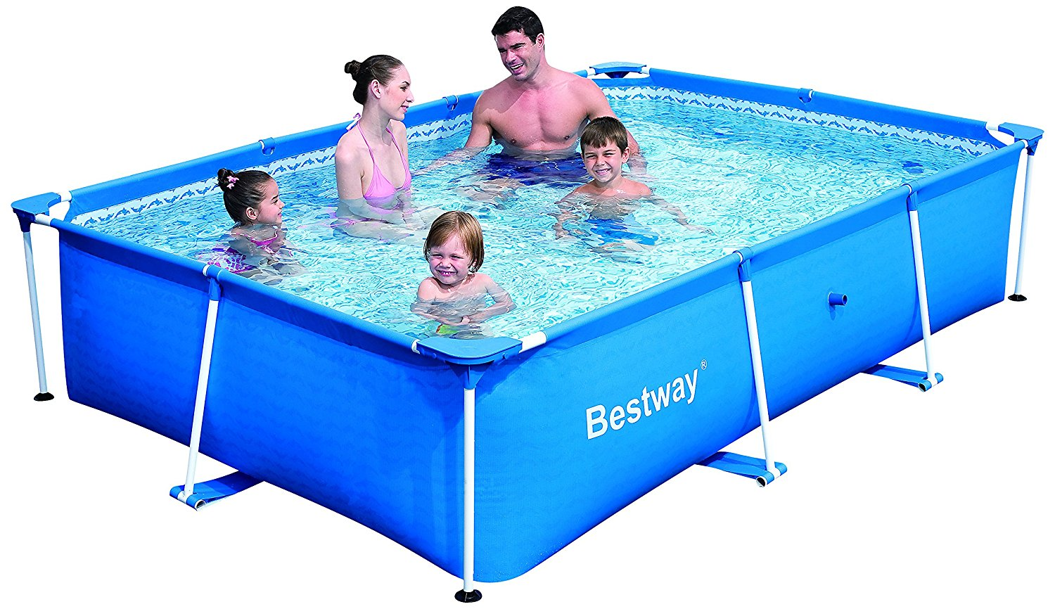bestway deluxe splash frame pool best above ground pool guide. Black Bedroom Furniture Sets. Home Design Ideas