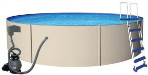 Blue Wave Rugged Steel Swimming Pool