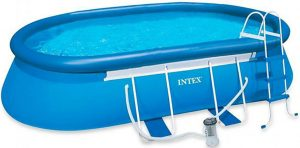 intex oval frame pool review best above ground pool guide. Black Bedroom Furniture Sets. Home Design Ideas