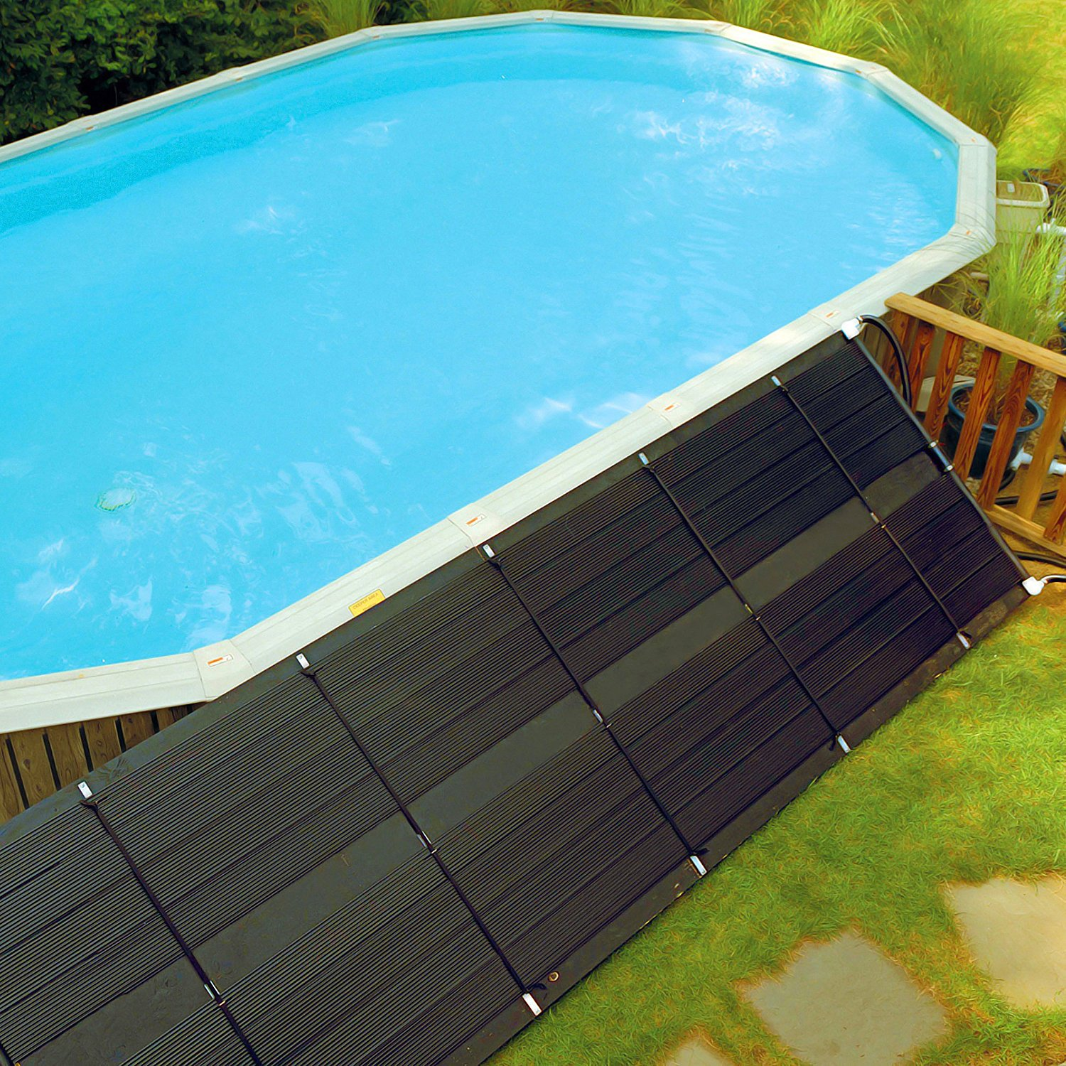 Best solar pool heater - Heated swimming pool running costs ...
